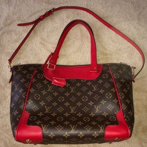 Louis Vuitton Estrela Cherry Red Cherise Handbag